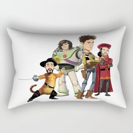 OPC Bastille Technicolor Rectangular Pillow
