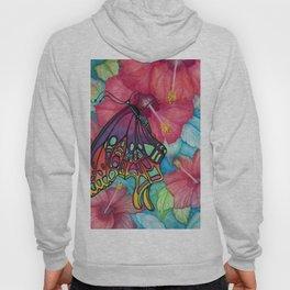 Wings And Flora Hoody