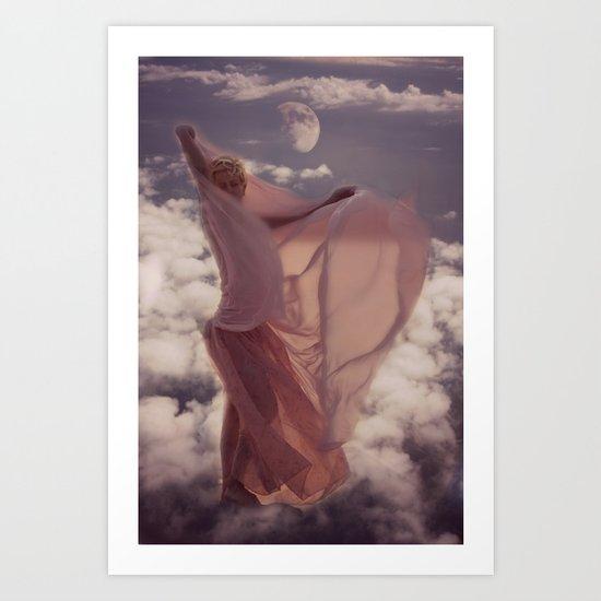 Luna Aja Art Print