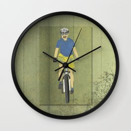 Bicycle Girl 2 Wall Clock