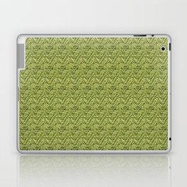 Green Zig-Zag Knit Laptop & iPad Skin