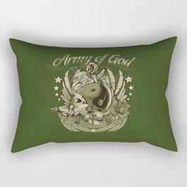 Army of God Rectangular Pillow