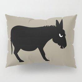 Angry Animals: Bad Ass Donkey Pillow Sham