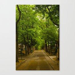 Paris_Cemetery Canvas Print
