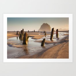 The Ghost Forest Art Print