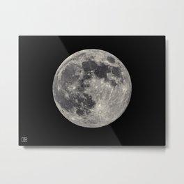 Moon. Metal Print