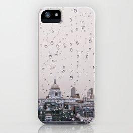 Rainy St. Paul's iPhone Case