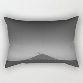 Stromboli Volcano Rectangular Pillow