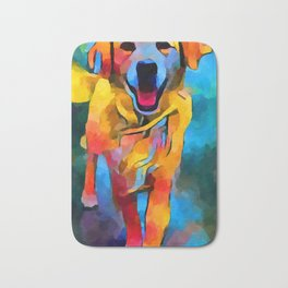 Golden Retriever 3 Bath Mat