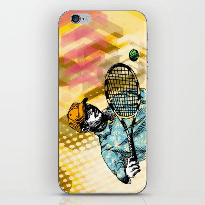 Tennis Backhand iPhone Skin