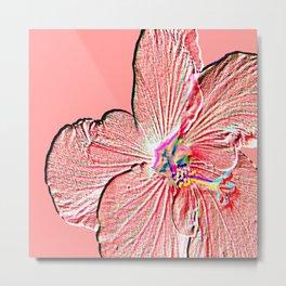 Bloom Coral Metal Print
