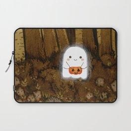 Little ghost and pumpkin Laptop Sleeve