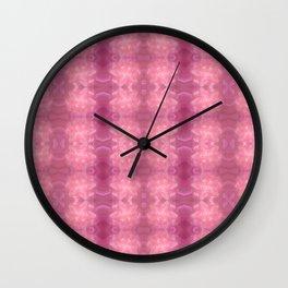 Soft marzipan pattern Wall Clock