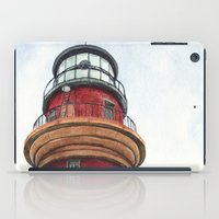 lighthouse iPad Cases featuring Lighthouse by Jackie Sullivan