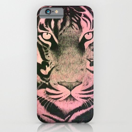 Be a Tiger (Pink) iPhone & iPod Case