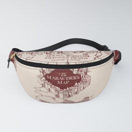 Marauder's Map Fanny Pack