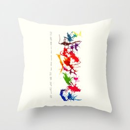 inferred  Throw Pillow