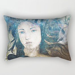 Mother Earth Rectangular Pillow