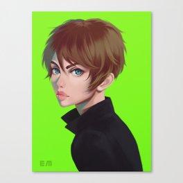 Green Eren Canvas Print