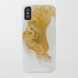 White Bliss iPhone Case
