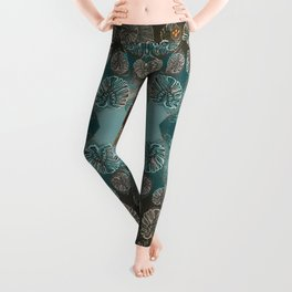 Monstera Style Leggings