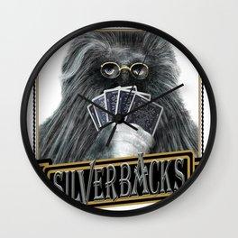 Silverbacks Wall Clock