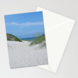 Ocracoke Island Beach Outer Banks Stationery Cards