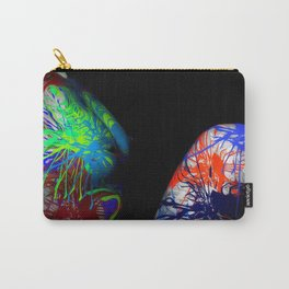 Painted Lady - Nude Carry-All Pouch