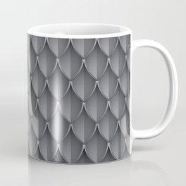 Medieval Fantasy   Metal scales  pattern Coffee Mug