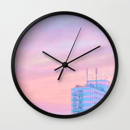 Hiroshima Dawn Wall Clock
