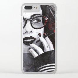 Tristessa Clear iPhone Case