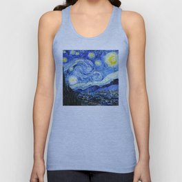 The Starry Night - Vincent van Gogh Unisex Tank Top