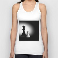 chess Tank Tops featuring Pion Chess by ArtSchool