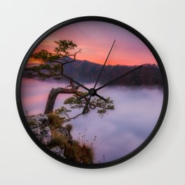 Above the couds Wall Clock