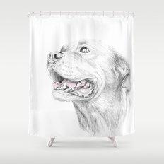 Murphy :: Loyalty Shower Curtain