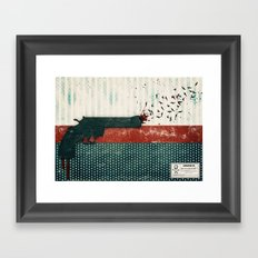 your life or your freedom (part 1 of the 'gun' series) Framed Art Print