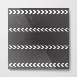 Arrow Stripe Metal Print