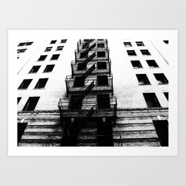 escape. Art Print