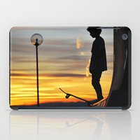 peter pan iPad Cases featuring Peter Pan by Marco Ferraro