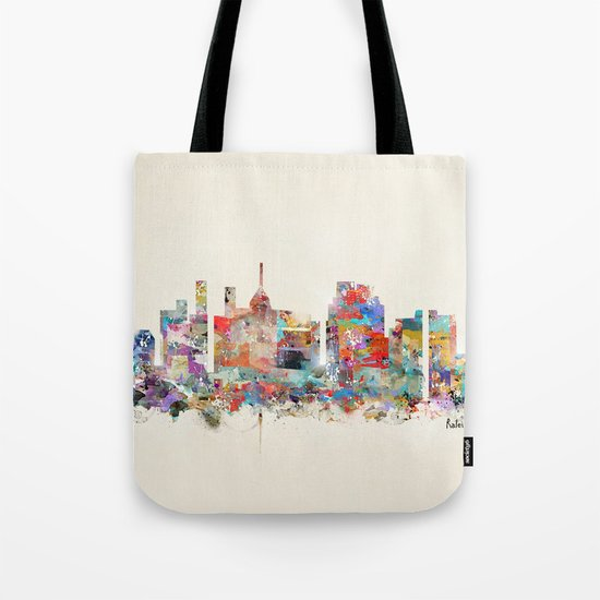 raleigh north carolina Tote Bag