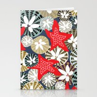 starfish Stationery Cards featuring Starfish by Angela Stevens
