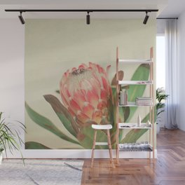 Pink Ice Wall Mural