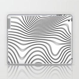 Organic Abstract 02 WHITE Laptop & iPad Skin