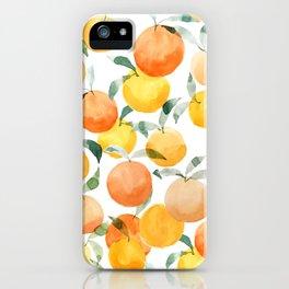 Orange Groove iPhone Case