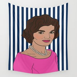 Jacqueline Kennedy Onassis Wall Tapestry