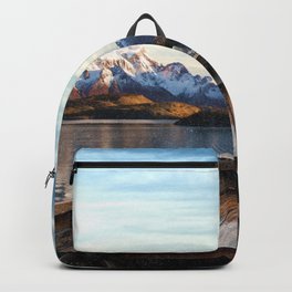 Torres del Paine National Park Chile, The Boat in Patagonia Backpack