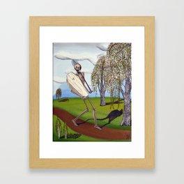 Dead Man Walking  Framed Art Print