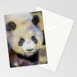 Giant Panda II  (digital painting) Stationery Cards