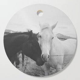 Horse Pair Cutting Board
