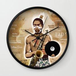 Fela Kuti Wall Clock